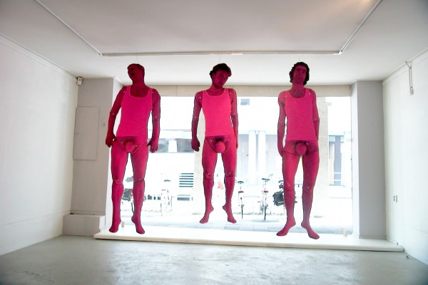 Collectief Frons // life-size jumping Jacks