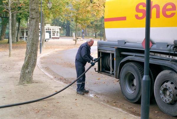 Man + Machine // gasoline hose